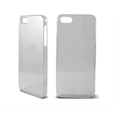 KSIX B0914CAR01 - Cover rigida per Apple iPhone 5, colore: cristallo
