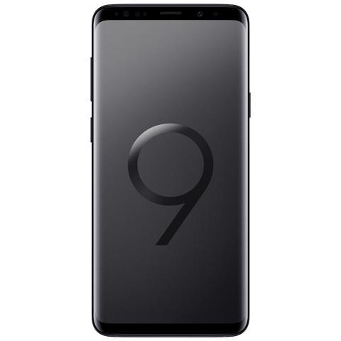 "SAMSUNG Galaxy S9+ Nero 64GB 4G Dual Sim Impermeabile Display 6.2"" Quad HD Slot MicroSD Fotocamera 12Mpx Italia"