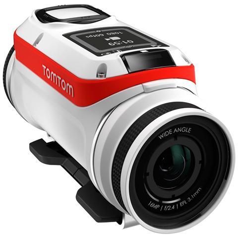 Image of Action Cam Bandit Bianco Sensore 16 Mpx Ultra HD 4K Stabilizzato Wi-Fi
