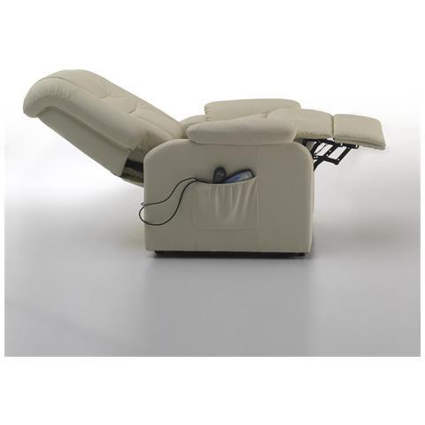 Evergreenweb Poltrona Elettrica Relax Con Massaggio E Alzapersona85x90x108