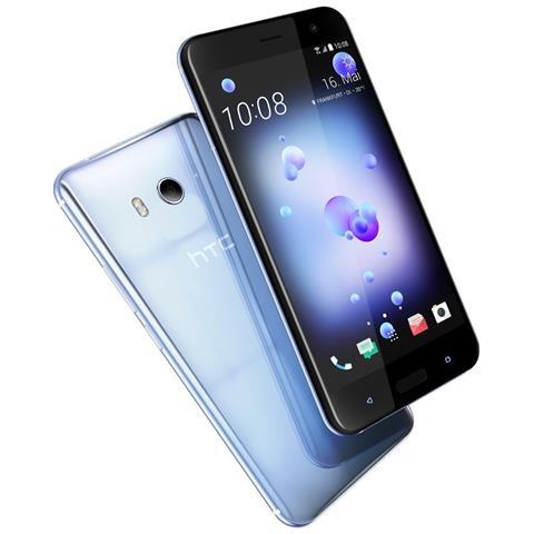 "HTC U11 Argento 64 GB 4G / LTE Dual Sim Display 5.5"" Quad HD Slot Micro SD Fotocamera 12 Mpx Android Europa"