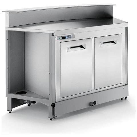 Banco Bar Refrigerato Statico Bbl1500ab Con Predisposizione Per Bancalina
