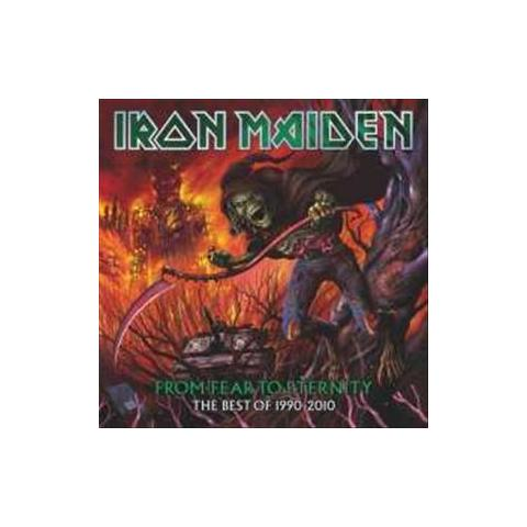 WARNER BROS Cd Iron Maiden - From Fear To Eternity
