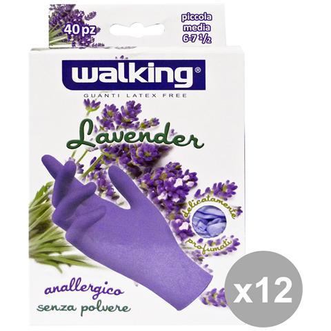 Walking Set 12 X 40 Lavender S-m Lattice Senza Polvere - Giardinaggio