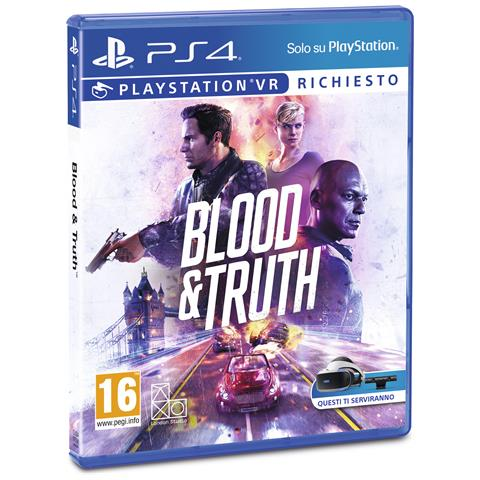 SONY PS4 - Blood & Truth (Richiede PS VR)