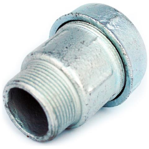 1 12 filetto Maschio Bsp X 50 Mm Di Compressione Tubo Raccordi Comuni Connettore Unione