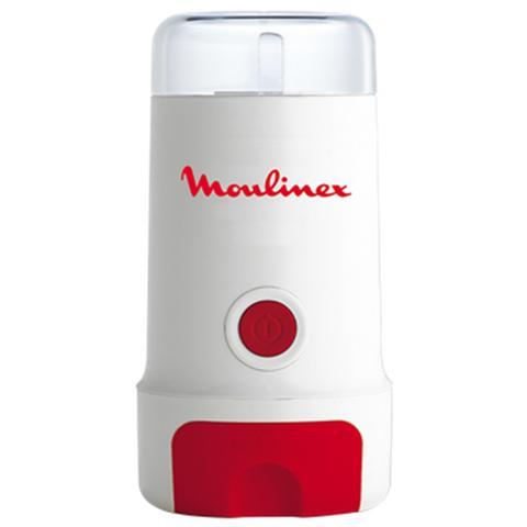 MC3001 Macinacaffè Capacità 80 gr. Potenza 180 Watt Colore Bianco / Rosso