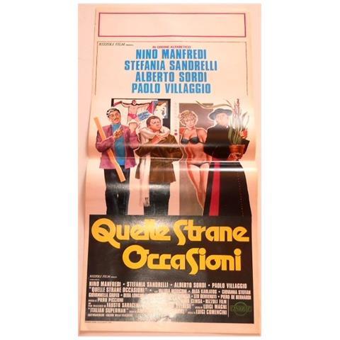 Vendilosubito Locandina Originale Del Film Quelle Strane Occasioni 1976