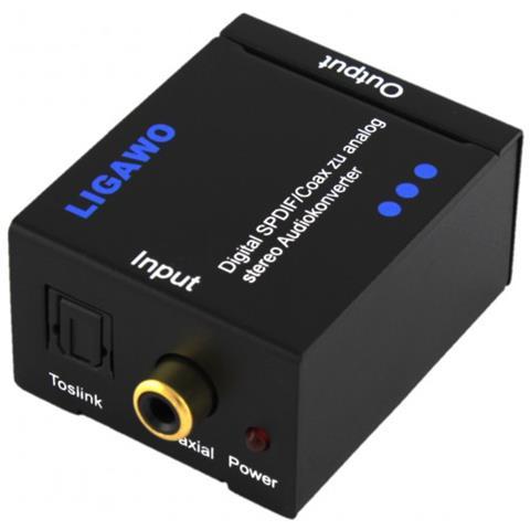 Ligawo Convertitori Audio e Video Nero 0.5 W 5 V 6533010