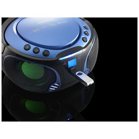 Lenco SCD-550, FM, CD, CD-R, CD-RW, CA / Batteria, LCD
