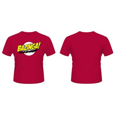 PLASTIC HEAD Big Bang Theory - Bazinga (T-Shirt Unisex Tg. XL)
