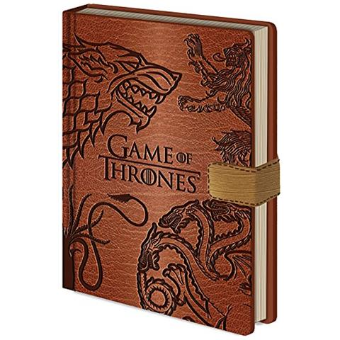 "Ambrosiana Internazionale Piramide A5 Game Of Thrones """"notebook Sigilli"