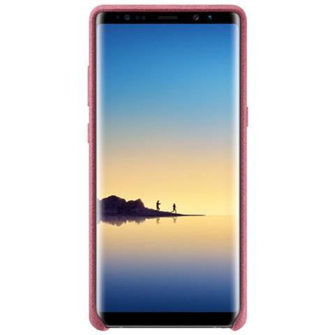 SAMSUNG Cover in Pelle per Galaxy Note 8 Colore Rosa