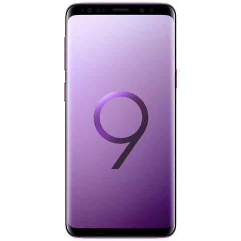 "SAMSUNG Galaxy S9 Viola 64 GB 4G Dual Sim Impermeabile Display 5.8"" Quad HD Slot MicroSD Fotocamera 12Mpx Italia"