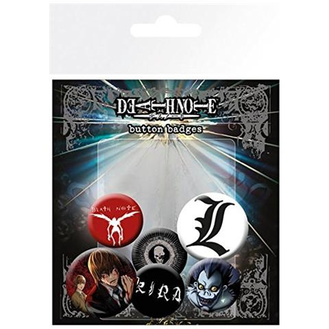 GB EYE Death Note: Mix (badge Pack)