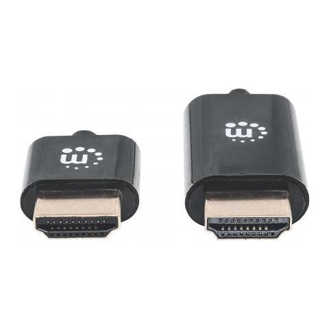 MANHATTAN Cavo HDMI High Speed con Ethernet Ultra Sottile 4,5m