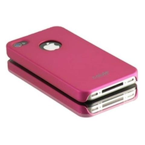 CABLE TECHNOLOGIES Cover posteriore in silicone PINK per iPhone 4