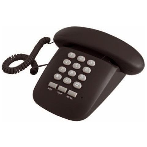 BRONDI Telefono Fisso a Filo - Nero