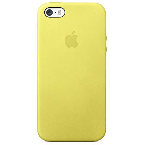 APPLE Custodia in pelle per iPhone 5s - Colore giallo