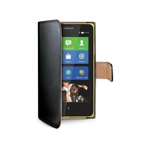 CELLY Custodia per Lumia 630/635 - Black