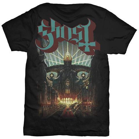 ROCK OFF Ghost - Meliora Black (T-Shirt Unisex Tg. 2XL)