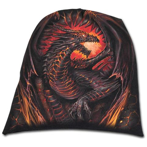 SPIRAL Dragon Furnace Light Cotton Beanies Black (Berretto Tg. L)