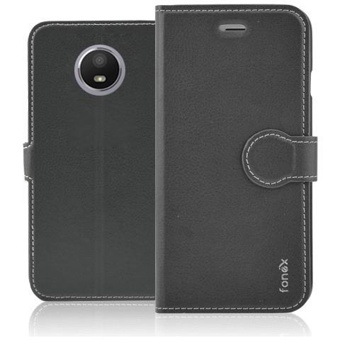 FONEX Cust. Book Identity Per Motorola Moto E4 Black