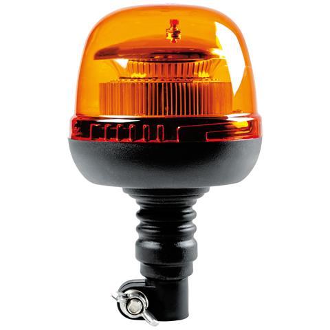 72993 Rl-9 Lampada Emergenza Con Luce Rotante A Led 12-24v