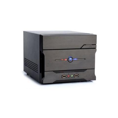 case ncube'11 mini itx psu 200 watt con card reader multifunzione colore nero
