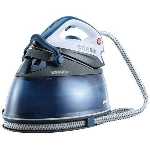 HOOVER PRP2400 IronVision 360° Ferro da Stiro con Caldaia Potenza 2400Watt Colore Blu Petrolio.