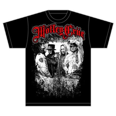 ROCK OFF Motley Crue - Greatest Hits Bandshot (T-Shirt Unisex Tg. XL)