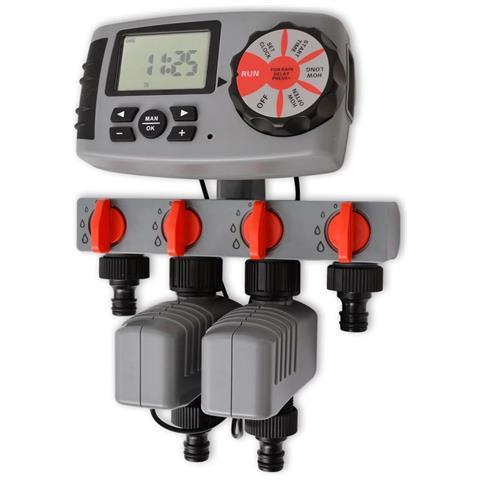 42352 Timer Automatico Di Irrigazione Con 4 Stazioni 3 V