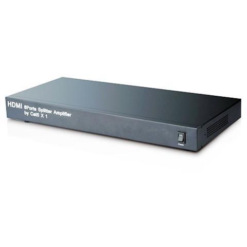 TECHLY IDATA HDMI-8C5 - Splitter / amplificatore HDMI 1 in 8 out su Cat 5