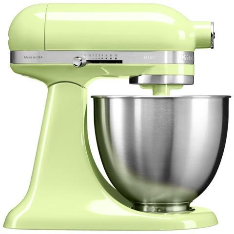 5KSM3311XEHW Robot da Cucina 4 Accessori Inclusi Potenza 250 Watt Capacità Ciotola 3,3 Litri Colore Verde