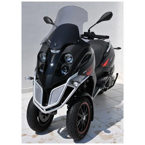 Scooter Parabrezza Ermax +20cm (Totale Altezza 62cm) + Fit Kit S Per Fuoco 500 Ie 2007/201...
