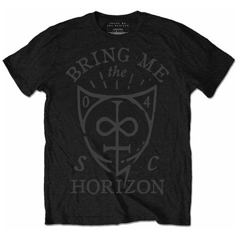ROCK OFF Bring Me The Horizon - Hand Drawn Shield (T-Shirt Unisex Tg. XL)