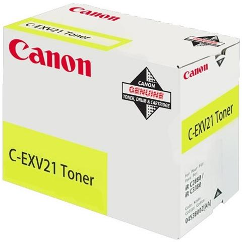 C-EXV21 Toner laser 14000pagine Giallo