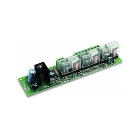 Scheda Per Collegamento N. 2 Batterie D'emergenza Serie Ver