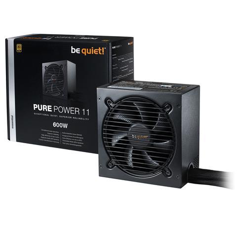 Image of Alimentatore PC Pure Power 11 600W Certificazione 80 Plus Gold ATX Potenza 600 W Colore Nero