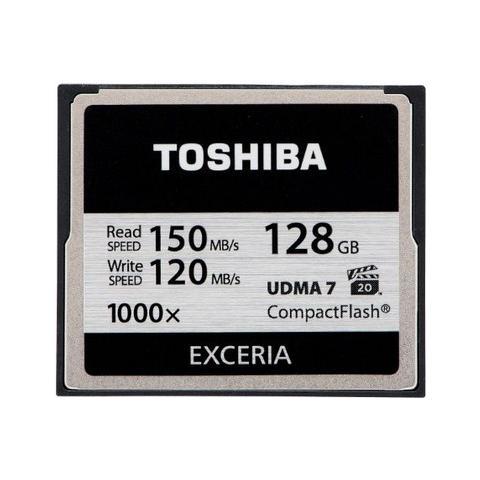 CF-128GB Exceria, 128 GB, CompactFlash (CF) , 150 MB / s, Nero