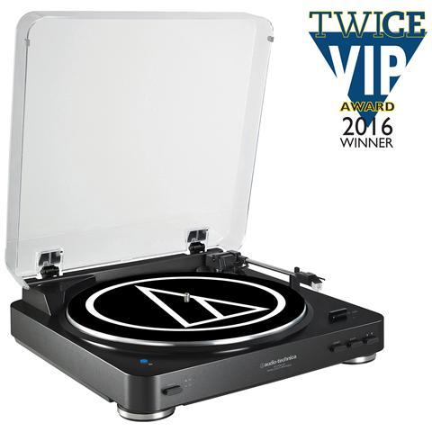 AUDIO-TECHNICA AT-LP60BT, AC, Nero, Alluminio, Audio (3.5mm) , RCA