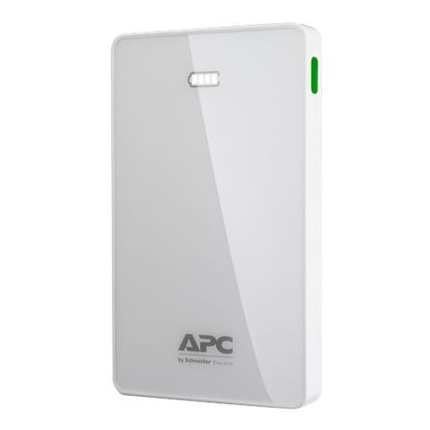 APC Power Bank Batteria Esterna 10000 mAh Colore Bianco