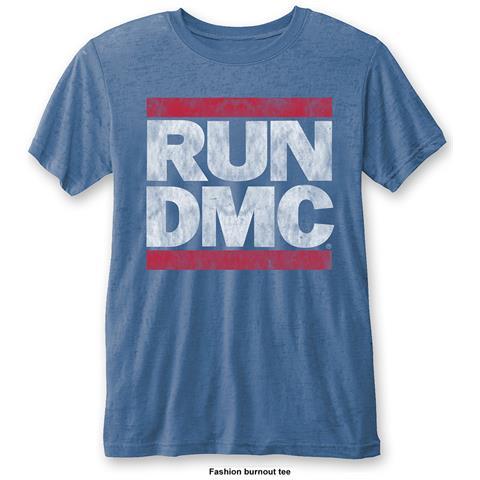ROCK OFF Run Dmc - Vintage Logo (T-Shirt Unisex Tg. M)