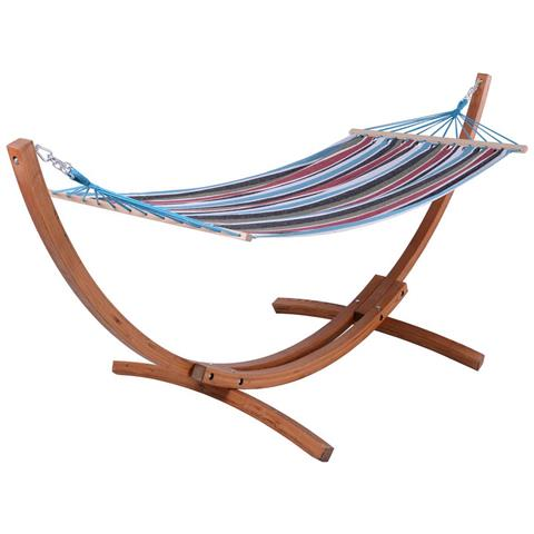 Amaca Relax In Legno - Dallas - 3 M - Blu