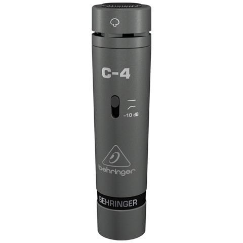 BEHRINGER C-4, scenario / performance, 20 - 20000 Hz, XLR-3, Cablato, Cardioid, 20 - 20000