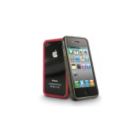 CABLE TECHNOLOGIES Cover posteriore RED per iPhone 4