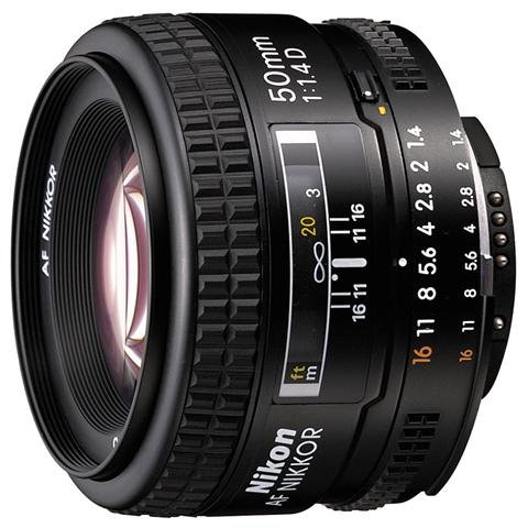 Image of 50 mm F / 1.4 Attacco Nikon AF