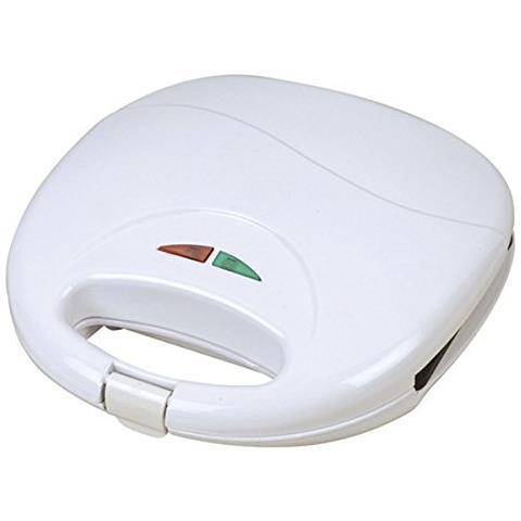 Piastra Grill Elettrica Sa-1204 700w Bianco
