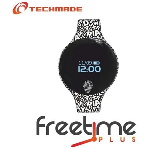 "Techmade Smartwatch FreeTime Free Display 0.66"" Bluetooth - Italia"
