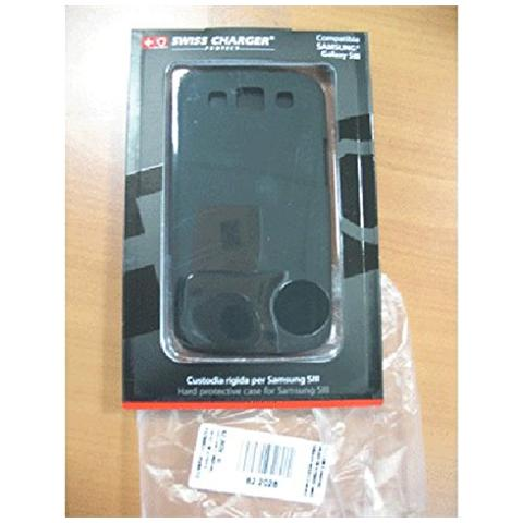 SWISS CHARGER Custodia X Samsung Galaxy Siii Scp80037 Swiss Charger Modello Plastica Rigido
